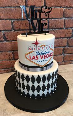 Las Vegas Wedding Party Cake