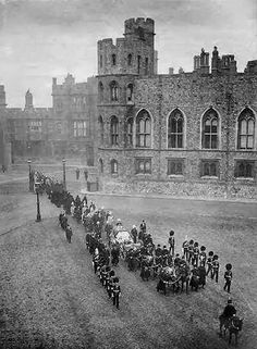 Los funerales de la reina Victoria. Windsor