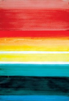 Stefan GIEROWSKI (ur. 1925)  Bez tytułu, 1984 akwarela, papier, 72 x 50 cm ( w oewietle oprawy); sygn. p. d.: S. Gierowski / 84 (długopisem)