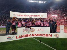 PSV landskampioen 2014 - 2015