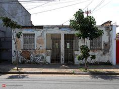 Abandoned house in Agua Fria, Sao Paulo.