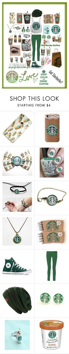 """Starbucks Coffe ☕"" by macaulere ❤ liked on Polyvore featuring Retrò, Converse, Cotton Candy and M Missoni"