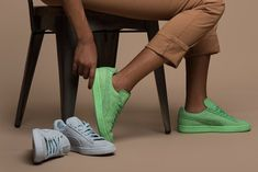 Solange Puma Collection Word To The Woman | Solange Knowles' third collection with Puma was shot on 14 women with all sorts of jobs, and most are women of color. #refinery29 http://www.refinery29.com/2015/08/91963/solange-puma-saint-heron