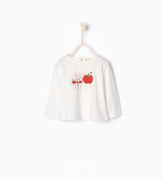ZARA - KIDS - Organic cotton printed T-shirt (I had to get this for me because she loves tomatoes so much!)