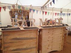 Bar Made - Mobile Bar Service, Somerset Mobile Bar, Bar Cart, Good Things, Rustic, Bar Ideas, Somerset, Stamp, Weddings, Outdoor