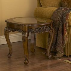 Maison French Provencial End Table | LampsPlus.com  #lampsplus and #mystyle