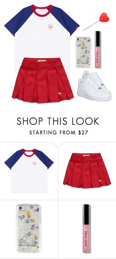 """""""Untitled #1906"""" by telletubbies ❤ liked on Polyvore featuring Abercrombie & Fitch, Rebecca Minkoff and Bobbi Brown Cosmetics"""