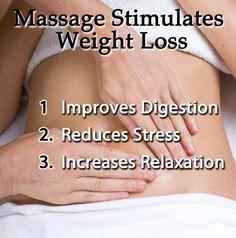 3 Ways Massage Stimulates Weight Loss