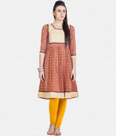 b6ec0cc432540 Buy Women Red Golden Kurti With Free Legging For Diwali At Rs 1199 Lowest  Price Online