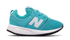 247 Classic, Teal with White
