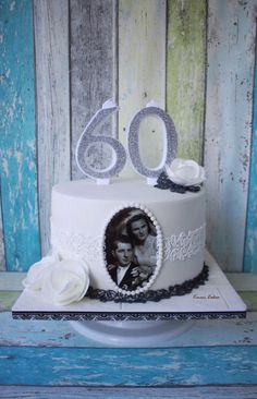 60th Wedding Anniversary by Kmeci Cakes - http://cakesdecor.com/cakes/285687-60th-wedding-anniversary