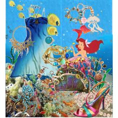 Under The Sea, created by hilary-star.polyvore.com