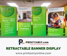 Banner Printing, Retirement, Investing, Finance