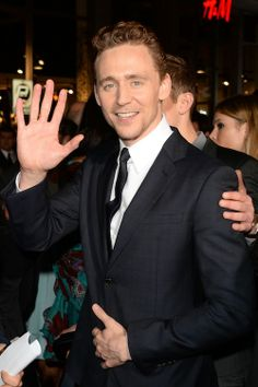Tom Hiddleston won 2013: His 13 Best Moments From The Past Year It's so cute!!!!!!!!