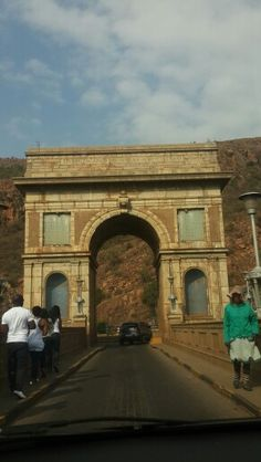 Hartebeespoort Dam Bridge - walked & drove over this section so many times :)