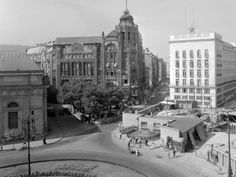 Deák Ferenc tér. Budapest V., 1954
