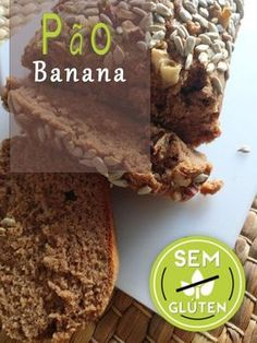 Pão de Banana, sem glúten