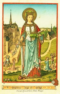 The story of St. Dymphna, patron saint of mental illnesses and nervous disorders.