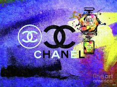Chanel Poster Mixed Media - Chanel Poster by Daniel Janda