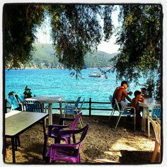 #lunchwithaview #picturesque #bluewater #dreamyourgreece