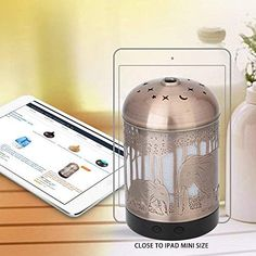 Essential Oil Diffuser -160ml Cool Mist Humidifier -7 Color LED Night Lamps -Crafts Ornaments All in 1 is the Upgrade Whisper-Quiet Ultrasonic Metal Elephant Humidifiers US 120V Essential Oil Diffuser, Essential Oils, Cool Mist Humidifier, Humidifiers, Safari Nursery, Night Lamps, Whisper, Mists, Elephant