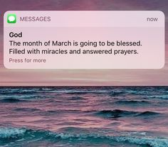 Morning Messages for The First Day of March ~ Spiritual Inspiration