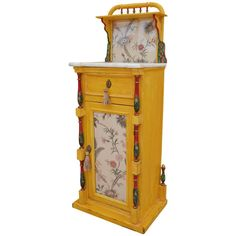 Furniture Storage, Cool Furniture, Country Cottage Bedroom, Cozy Bedroom, Cupboards, Bedside, Clock, Victorian, Antiques