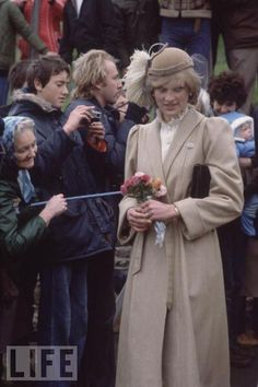 HRH Diana, Princess of Wales went on her first official tour to Wales in October 1981.