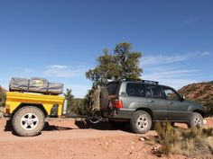The MUD 100 series Photos thread Landcruiser 79 Series, Toyota Land Cruiser 100, Off Road Trailer, Offroad, Trailers, Mud, Camper, The 100, Outdoors
