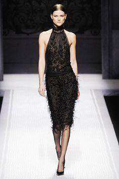 Model: Kasia Struss | Alberta Ferretti F/W 2012 RTW