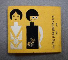 harry n. sierman | schetsontwerp luciferboekje sierman jubileum 1966