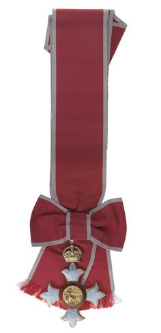 Order of the British Empire - Dame Grand Cross sash with pre-1937 badge