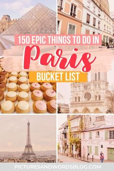 150 Amazing Things to Do in Paris, France   The Ultimate Paris Bucket List   Paris Travel Guide   Best Paris Activities   Best Food in Paris   Best Paris Museums   France Travel   Things to Do in France   Paris Aesthetic   Paris France   Paris Things to Do   Paris Itinerary Inspiration   France Itinerary Inspiration   Paris France Things to Do   Paris Travel Tips