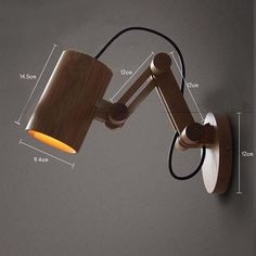 Oak Modern wooden Wall Lamp Lights For Bedroom Home Lighting Wall Sconce solid wall mounted bedside reading lights