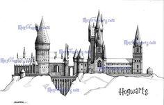 Hogwarts Castle on Pinterest | Hogwarts, Castles and Witchcraft
