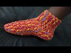 Como fazer - Sapato Botinha Crochê - Adulto 1- Fácil - Graça Tristão - YouTube