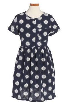 Tea Collection  Neko  Graphic Woven Dress Size 7 NWT  fashion  clothing   f6fd458ef85ce