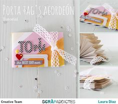 Porta Tags y Laura Diaz for @scrapaddictes