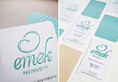 #graphicdesign #logo #design #identity #businesscard #emekpatisserie