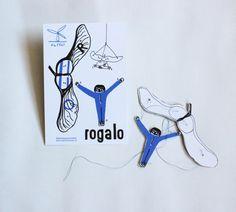 NaPOLI - Rogalo v prodeji v papelote / www.papelote.cz / paper, toys, illustration
