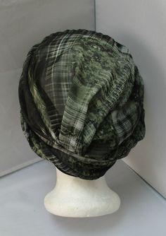 Turban préformé Sésame à nouer ou à enrouler- Foulard - Bonnet - chapeau -  bandeau 14c6fd3dd85