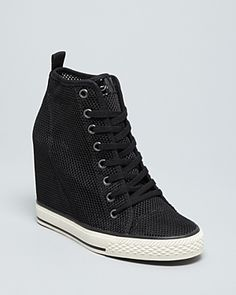DKNY High Top Wedge Sneakers -...   $165.00