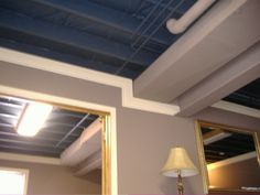 Basement Ceiling Options Photos | Basement Ceiling Blues: HELP!   Basement  Designs   Decorating