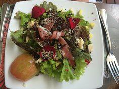 My main course: Ensalada In Situ, Medellin, Colombia http://travelingbytes.com/in-situ-medellin/ #foodie #Medellin