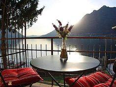 BEACHFRONT+VILLA++-+LAKE+VIEWS++-++BEACH/LIDO+--+WIFI+-+SWIMMING+-+GARDENS+-+PKG++++-+Villetta+Tranquilita`-+#11+-Vacation Rental in Pognana Lario from @homeaway! #vacation #rental #travel #homeaway