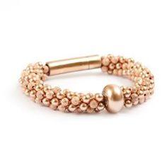Becharmed Rose Gold Bracelet Free tutorial