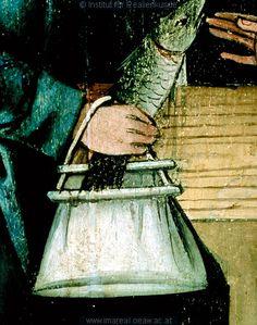 Fischwunder des Hl. Ulrich,1480 ; 1485 ; Graz ; Österreich ; Steiermark ; Universalmuseum Joanneum ; IN 418