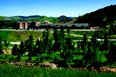 View of the Lodge at Deadwood. South Dakota travel fun!