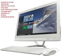 "Lenovo IdeaCentre 300 21.5"" AMD A4 1TB 8GB All-in-One | eBay"