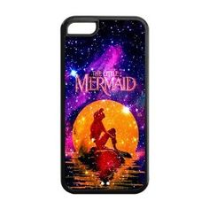 Amazon.com: Mystic Zone Princess Ariel The Little Mermaid Cover Case for Apple iPhone 5C -(Black and White) -MZ5C00203: Cell Phones & Access...